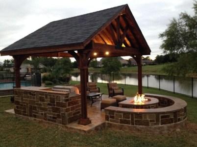 Wonderful Outdoor Firepit Ideas 12