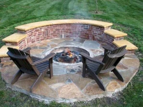 Wonderful Outdoor Firepit Ideas 18