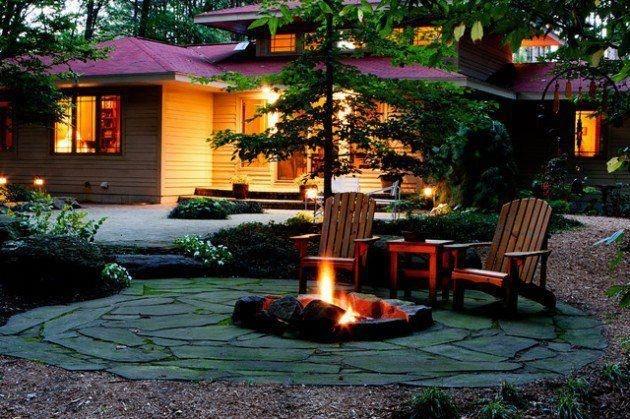 Wonderful Outdoor Firepit Ideas 20