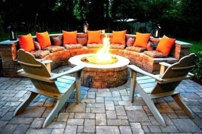 Wonderful Outdoor Firepit Ideas 23