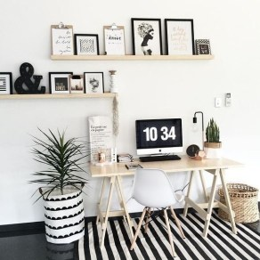 47 Interior Design 2019 for Decorating Your Comfortable Home Office 14