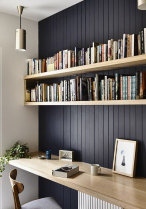 47 Interior Design 2019 for Decorating Your Comfortable Home Office 18