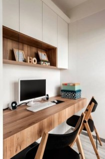 47 Interior Design 2019 for Decorating Your Comfortable Home Office 19