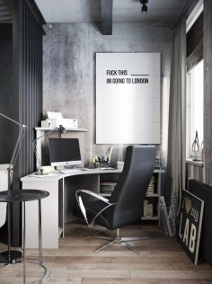 47 Interior Design 2019 for Decorating Your Comfortable Home Office 20