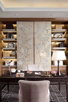 47 Interior Design 2019 for Decorating Your Comfortable Home Office 29