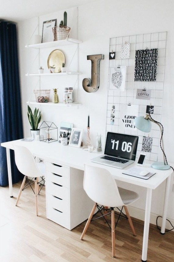 47 Interior Design 2019 for Decorating Your Comfortable Home Office 46
