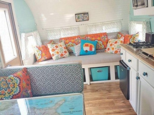 Amazing RV Decorating Designs and Project That You Have To Try 25