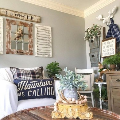 Amazing Rustic Farmhouse Decor Ideas on A Budget 31