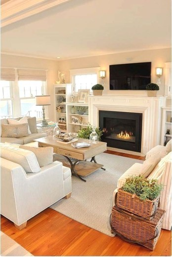 Amazing Small Living Room Design to Make Feel Bigger 09