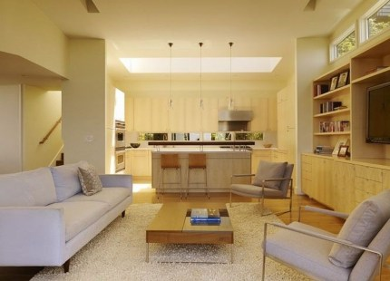 Amazing Small Living Room Design to Make Feel Bigger 26