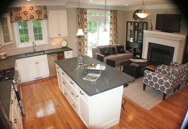 Amazing Small Living Room Design to Make Feel Bigger 31
