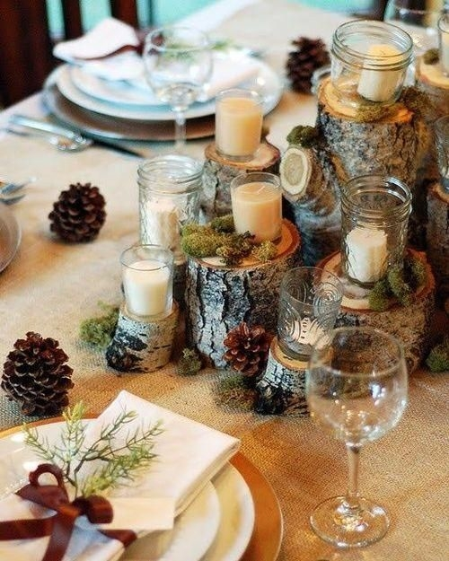 Beautiful Decorations for Your Wedding Decoration with Wooden Slices10
