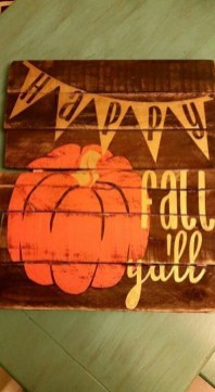 Best Fall Pallet Projects and Design for Your Home on a Budget 51
