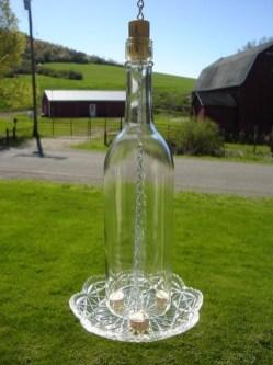 Charming Backyard Ideas Using an Empty Glass Bottle04