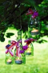 Charming Backyard Ideas Using an Empty Glass Bottle22