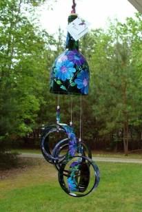 Charming Backyard Ideas Using an Empty Glass Bottle29