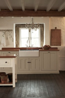 Cozy Kitchen Decorating with Farmhouse Sink Ideas 30