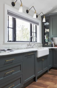 Cozy Kitchen Decorating with Farmhouse Sink Ideas 45