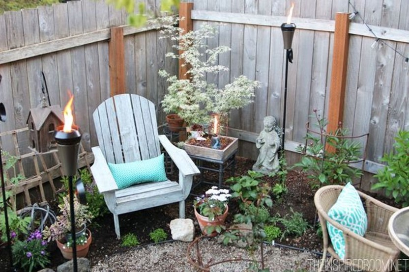 Fabulous DIY Projects To Make Small Backyard More Cozy 04