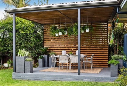 Fabulous DIY Projects To Make Small Backyard More Cozy 09