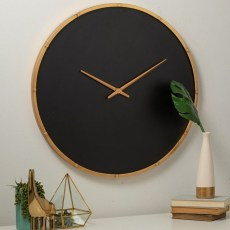 Gorgeous Wall Clock Decoration for Your Small Living Room33