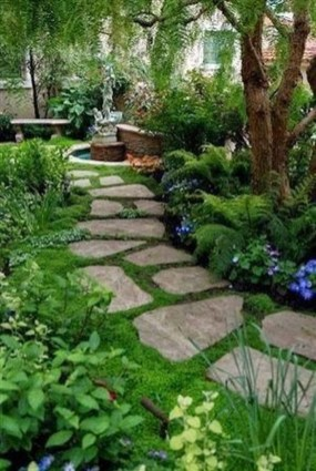 Most Amazing Side Yard Landscaping Ideas to Beautify Your Garden 42
