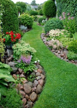 Most Amazing Side Yard Landscaping Ideas to Beautify Your Garden 54