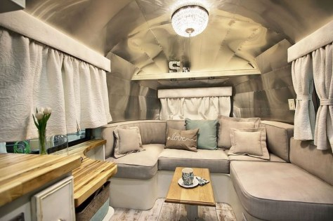 Perfect Travel Trailer Decorating To Make Your Trip Enjoyable 14