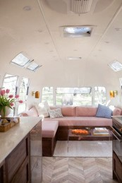 Perfect Travel Trailer Decorating To Make Your Trip Enjoyable 34