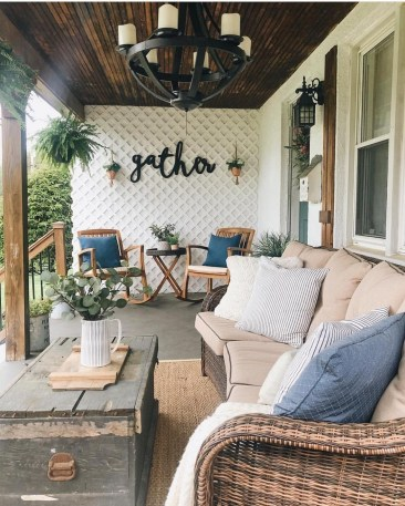 Porch Modern Farmhouse a Should You Try23