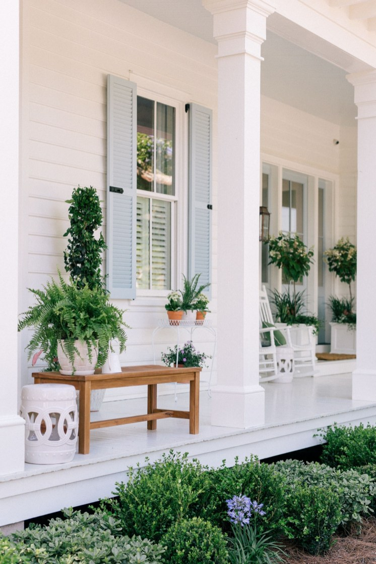 Porch Modern Farmhouse a Should You Try34