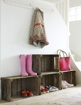 Simple and Cheap DIY Ideas to Organize Shoes That You Must Try 08