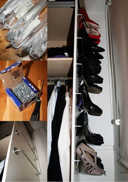 Simple and Cheap DIY Ideas to Organize Shoes That You Must Try 13