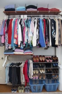 Simple and Cheap DIY Ideas to Organize Shoes That You Must Try 22