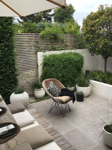 The Design of a Small, Simple Backyard You Must Have 14