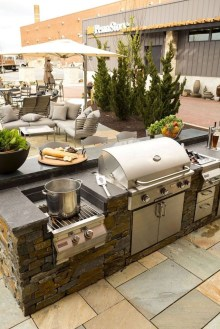 Amazing Outdoor Kitchen Bars to Finish This Summer 05
