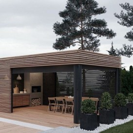Awesome Outdoor Rooms Designed as Comfortable as Possible for You 23