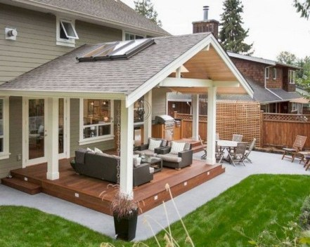 Best Backyard Patio Designs and Projects On a Budget 08