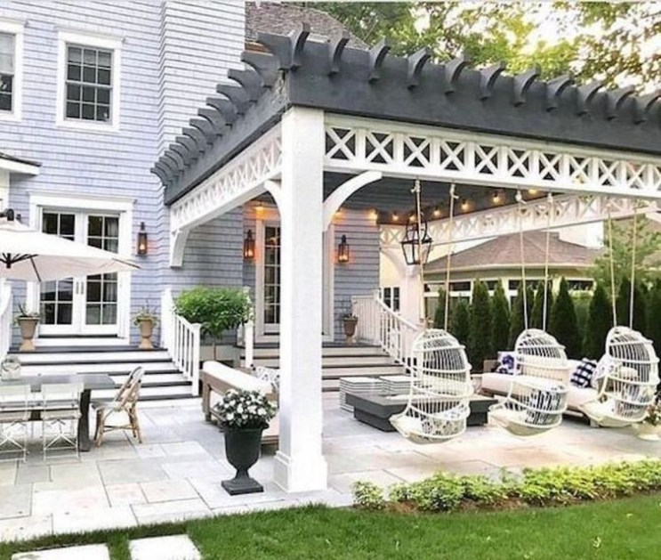 Best Backyard Patio Designs and Projects On a Budget 41