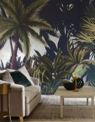 Best Wallpaper Decoration Designs to Enhance Your Family Room 01