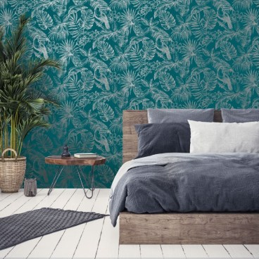 Best Wallpaper Decoration Designs to Enhance Your Family Room 11