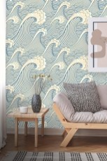 Best Wallpaper Decoration Designs to Enhance Your Family Room 19