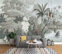 Best Wallpaper Decoration Designs to Enhance Your Family Room 21