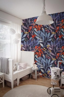 Best Wallpaper Decoration Designs to Enhance Your Family Room 23