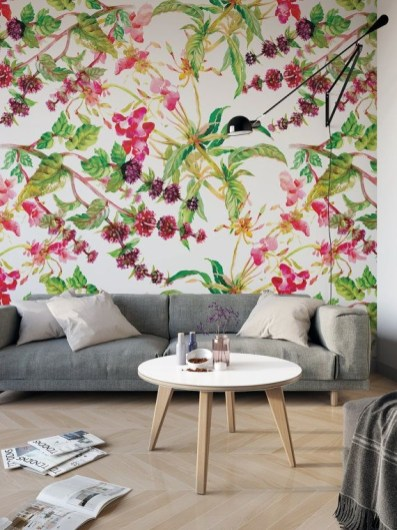Best Wallpaper Decoration Designs to Enhance Your Family Room 34