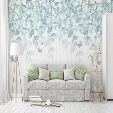 Best Wallpaper Decoration Designs to Enhance Your Family Room 35