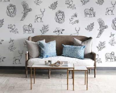 Best Wallpaper Decoration Designs to Enhance Your Family Room 37