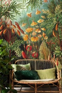 Best Wallpaper Decoration Designs to Enhance Your Family Room 43