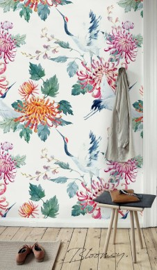 Best Wallpaper Decoration Designs to Enhance Your Family Room 47