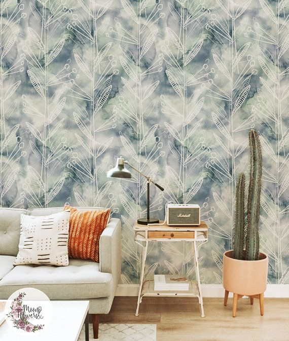 Best Wallpaper Decoration Designs to Enhance Your Family Room 48